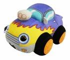 Мягкая игрушка 1 TOY Дразнюка-биби Автомобильчик 15 см
