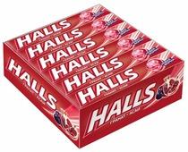 Леденцы Halls Гранат и ягоды асаи 12 шт.