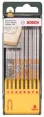 Набор пилок для лобзика BOSCH Set T-Shank 2607019458 8 шт.