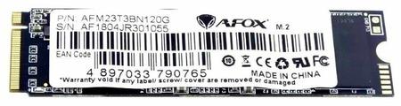 Твердотельный накопитель AFOX AFM23T3BN120G