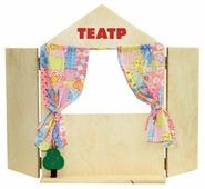 Краснокамская игрушка Ширма для кукольного театра настольная (Н-18)
