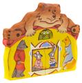 Пазл Сказки дерева Теремок с медведем (08015), 8 дет.