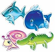 Набор пазлов Русский стиль 3D Кто живет в воде? (02401)