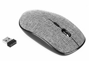 Мышь Qumo Ecru Black-Grey USB
