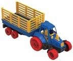 Трактор Нордпласт с прицепом (051) 54 см
