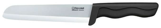 Rondell Нож поварской Glanz White 15 см
