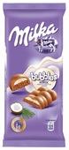 Шоколад Milka молочный пористый с кокосовой начинкой