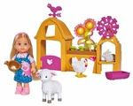 Набор Simba Счастливая ферма Еви, 12 см, 5733075