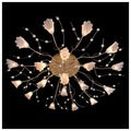 Люстра Eurosvet 4829/19 золото/синий+красный+фиолетовый, G4, 380 Вт