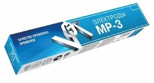 Электрод для углеродистой стали 4 мм вистек МР-3 5 кг