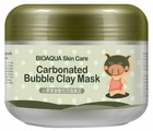 BioAqua Очищающая кислородная пузырьковая маска для лица на основе глины