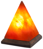Солевая лампа Stay Gold Пирамида малая (с диммером)