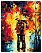"Белоснежка Картина по номерам ""Поцелуй под дождем"" 30х40 см (3015-CS)"