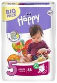Bella Baby happy подгузники adventure 5 (12-25 кг) 58 шт.