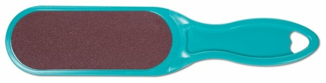 Пилка педикюрная Domix с пластиковой ручкой