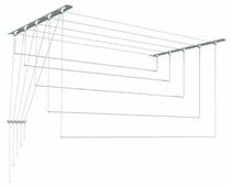 Сушилка для белья Лиана настенно-потолочная металлическая 1,4 м