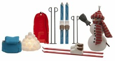 Набор аксессуаров Lundby Зимний набор для отдыха LB_60509700