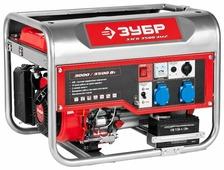 Бензиновый генератор ЗУБР ЗЭСБ-3500-ЭМ2 (3000 Вт)