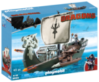 Набор с элементами конструктора Playmobil Dragons 9244 Корабль Драго
