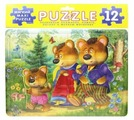 Рамка-вкладыш Фламинго Три медведя (00127), 12 дет.