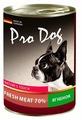 Корм для собак Pro Dog Для собак ягненок консервы