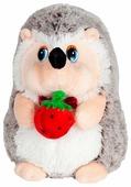 Мягкая игрушка Maxitoys Ежик с клубничкой 19 см