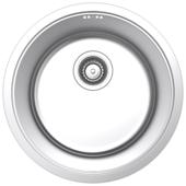 Врезная кухонная мойка IDDIS Edifice EDI42P0i77 42.5х42.5см нержавеющая сталь