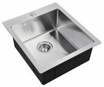 Врезная кухонная мойка ZorG INOX R 4551 45х51см нержавеющая сталь