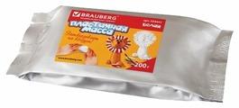 Масса для лепки BRAUBERG белая 200г (224441)