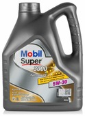 Моторное масло MOBIL Super 3000 X1 Formula FE 5W-30 4 л