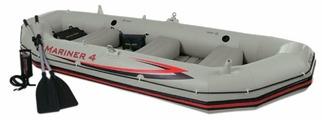 Надувная лодка Intex Mariner-4 Set (68376)