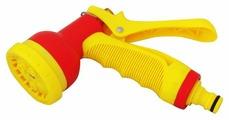 Пистолет для полива Frut Пистолет-распылитель FRUT многофункций металлическое сопло, металлический курок 402045