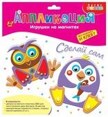 Дрофа-Медиа Набор для творчества Игрушки на магнитах Пингвин. Сова (2878)