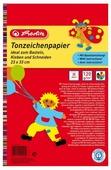 Цветная бумага Herlitz, 23х33 см, 20 л., 10 цв.