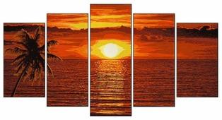Schipper Картина по номерам «Закат на карибах» 132х72 см (9450728)