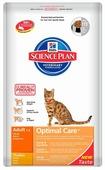 Корм для кошек Hill's Science Plan Optimal Care с курицей