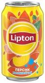 Чай Lipton Персик, банка