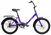 Велосипед AIST Smart 20 1.1 (фиолетовый, 2017)
