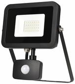 Прожектор светодиодный с датчиком движения 30 Вт ЭРА LPR-30-6500К-М-SEN SMD Eco Slim
