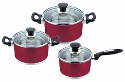 Набор посуды Mallony PKS6-01W (981049) 6 пр.