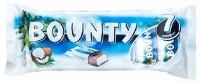 Батончик Bounty с нежной мякотью кокоса, мультипак (7 шт. х 27,5 г)