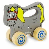 Каталка-игрушка Alatoys Лошадка (КЛШ01)