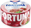 Fortuna Тунец рубленый в томатном соусе, 185 г