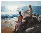 "Белоснежка Картина по номерам ""У самого синего моря"" 40х50 см (937-АВ)"