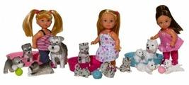 Набор Simba Еви с домашними питомцами, 15 см, 5734191