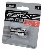 Батарейка ROBITON Lithium Profi CR123A