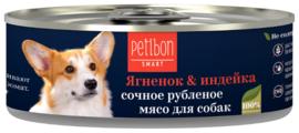 Корм для собак Petibon Smart Ягнёнок & индейка