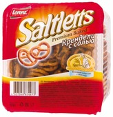 Крендели Lorenz Saltletts с солью 125 г