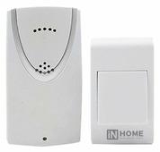 Звонок с кнопкой In Home ЗБ-1 электронный беспроводной (количество мелодий: 32)