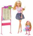Simba Набор кукол Steffi Love Штеффи-учитель и Еви-ученица, 29 см, 5730472